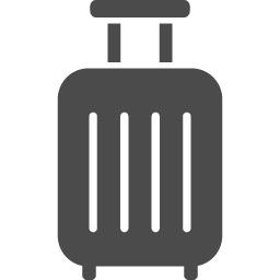 キャリーバッグ1 アイコン素材ダウンロードサイト Icooon Mono 商用利用可能なアイコン素材が無料 フリー ダウンロードできるサイト