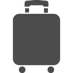 キャリーバッグ5 アイコン素材ダウンロードサイト Icooon Mono 商用利用可能なアイコン素材が無料 フリー ダウンロードできるサイト