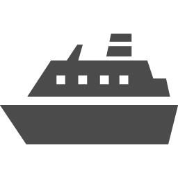 フェリーのアイコン1 アイコン素材ダウンロードサイト Icooon Mono 商用利用可能なアイコン素材が無料 フリー ダウンロードできるサイト