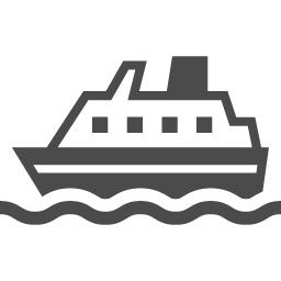 フェリーのフリーアイコン4 アイコン素材ダウンロードサイト Icooon Mono 商用利用可能なアイコン素材が無料 フリー ダウンロードできるサイト