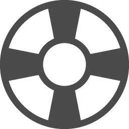 浮き輪のアイコン1 アイコン素材ダウンロードサイト Icooon Mono 商用利用可能なアイコン素材が無料 フリー ダウンロードできるサイト