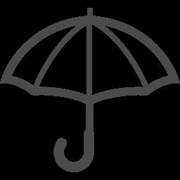 カサのピクトアイコン4 アイコン素材ダウンロードサイト Icooon Mono 商用利用可能なアイコン 素材が無料 フリー ダウンロードできるサイト