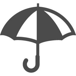 カサのピクトアイコン5 アイコン素材ダウンロードサイト Icooon Mono 商用利用可能なアイコン素材が無料 フリー ダウンロードできるサイト
