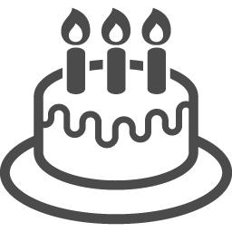 ホールケーキのフリーアイコン 3 アイコン素材ダウンロードサイト Icooon Mono 商用利用可能なアイコン 素材が無料 フリー ダウンロードできるサイト