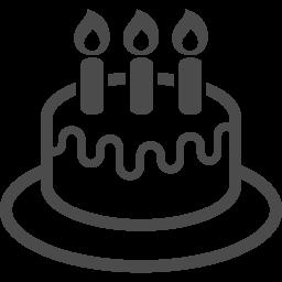 ホールケーキのフリーアイコン 3 アイコン素材ダウンロードサイト Icooon Mono 商用利用可能なアイコン素材が無料 フリー ダウンロードできるサイト