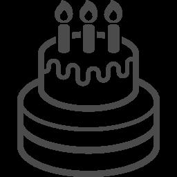 ウェディングケーキのアイコン アイコン素材ダウンロードサイト Icooon Mono 商用利用可能なアイコン素材が無料 フリー ダウンロードできるサイト