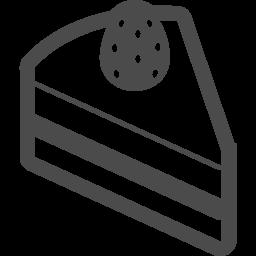 ケーキのアイコン3 アイコン素材ダウンロードサイト Icooon Mono 商用利用可能なアイコン素材が無料 フリー ダウンロードできるサイト