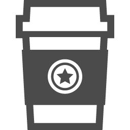 テイクアウトのコーヒーのアイコン2 アイコン素材ダウンロードサイト Icooon Mono 商用利用可能なアイコン素材が無料 フリー ダウンロードできるサイト