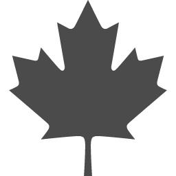 カナダのもみじ アイコン素材ダウンロードサイト Icooon Mono 商用利用可能なアイコン素材が無料 フリー ダウンロードできるサイト