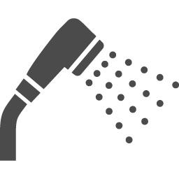 シャワーのアイコン5 アイコン素材ダウンロードサイト Icooon Mono 商用利用可能なアイコン素材が無料 フリー ダウンロードできるサイト