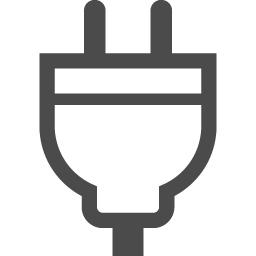 プラグ コンセントのアイコン3 アイコン素材ダウンロードサイト Icooon Mono 商用利用可能なアイコン素材が無料 フリー ダウンロードできるサイト