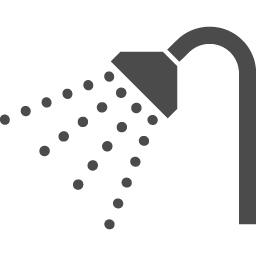 シャワーのアイコン6 アイコン素材ダウンロードサイト Icooon Mono 商用利用可能なアイコン素材が無料 フリー ダウンロードできるサイト