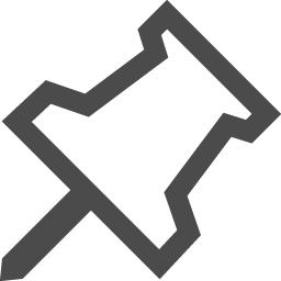 押しピンのフリーアイコン2 アイコン素材ダウンロードサイト Icooon Mono 商用利用可能なアイコン 素材が無料 フリー ダウンロードできるサイト