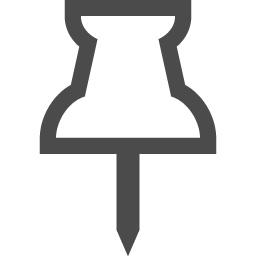 押しピンのフリーアイコン5 アイコン素材ダウンロードサイト Icooon Mono 商用利用可能なアイコン 素材が無料 フリー ダウンロードできるサイト