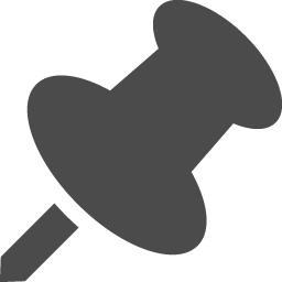 押しピンのフリーアイコン7 アイコン素材ダウンロードサイト Icooon Mono 商用利用可能なアイコン 素材が無料 フリー ダウンロードできるサイト