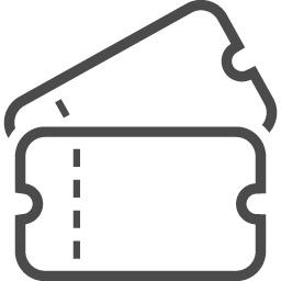 チケットのアイコン8 アイコン素材ダウンロードサイト Icooon Mono 商用利用可能なアイコン素材が無料 フリー ダウンロードできるサイト