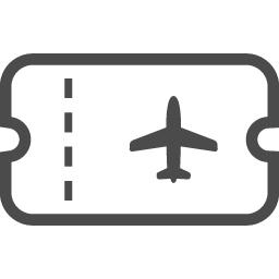 エアチケットのアイコン1 アイコン素材ダウンロードサイト Icooon Mono 商用利用可能なアイコン素材が無料 フリー ダウンロードできるサイト