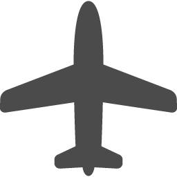 飛行機の無料アイコン素材 アイコン素材ダウンロードサイト Icooon Mono 商用利用可能なアイコン素材が無料 フリー ダウンロードできるサイト