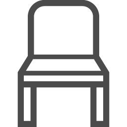 イスのアイコン7 アイコン素材ダウンロードサイト Icooon Mono 商用利用可能なアイコン素材が無料 フリー ダウンロードできるサイト
