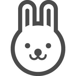 うさぎの無料アイコンその3 アイコン素材ダウンロードサイト Icooon Mono 商用利用可能なアイコン素材が無料 フリー ダウンロードできるサイト