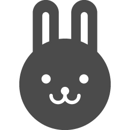 うさぎの無料アイコンその4 アイコン素材ダウンロードサイト Icooon Mono 商用利用可能なアイコン素材が無料 フリー ダウンロードできるサイト