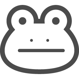 かえるアイコン2 アイコン素材ダウンロードサイト Icooon Mono 商用利用可能なアイコン素材が無料 フリー ダウンロードできるサイト