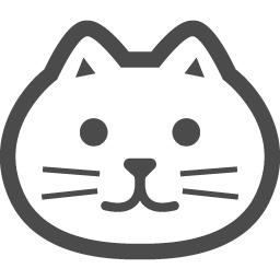 猫の無料アイコン1 アイコン素材ダウンロードサイト Icooon Mono 商用利用可能なアイコン素材が無料 フリー ダウンロードできるサイト