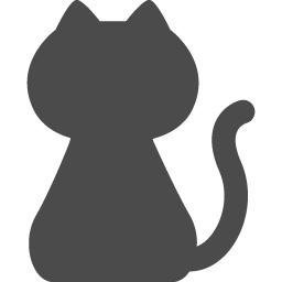 猫の無料アイコン2 アイコン素材ダウンロードサイト Icooon Mono 商用利用可能なアイコン素材が無料 フリー ダウンロードできるサイト
