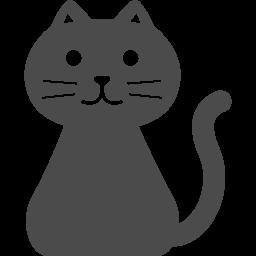 猫の無料アイコン3 アイコン素材ダウンロードサイト Icooon Mono 商用利用可能なアイコン素材が無料 フリー ダウンロードできるサイト