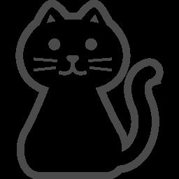 猫の無料アイコン4 アイコン素材ダウンロードサイト Icooon Mono 商用利用可能なアイコン素材が無料 フリー ダウンロードできるサイト