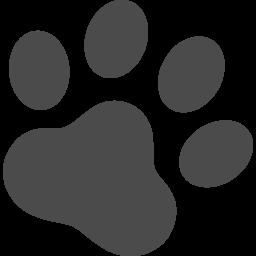肉球のアイコン3 アイコン素材ダウンロードサイト Icooon Mono 商用利用可能なアイコン素材が無料 フリー ダウンロードできるサイト