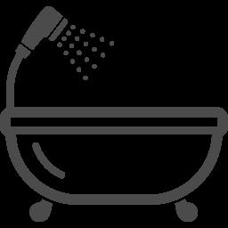 お風呂のフリーアイコン2 アイコン素材ダウンロードサイト Icooon Mono 商用利用可能なアイコン 素材が無料 フリー ダウンロードできるサイト