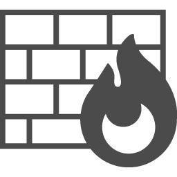 防火壁のアイコン2 アイコン素材ダウンロードサイト Icooon Mono 商用利用可能なアイコン素材が無料 フリー ダウンロードできるサイト