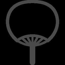 うちわのアイコン3 アイコン素材ダウンロードサイト Icooon Mono 商用利用可能なアイコン素材が無料 フリー ダウンロードできるサイト