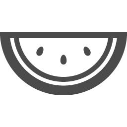 スイカのフリーアイコン アイコン素材ダウンロードサイト Icooon Mono 商用利用可能なアイコン素材が無料 フリー ダウンロードできるサイト