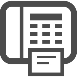 Faxのアイコン2 アイコン素材ダウンロードサイト Icooon Mono 商用利用可能なアイコン素材が無料 フリー ダウンロードできるサイト