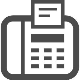 Faxのアイコン3 アイコン素材ダウンロードサイト Icooon Mono 商用利用可能なアイコン素材が無料 フリー ダウンロードできるサイト