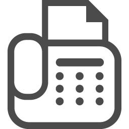 Faxのフリーアイコン5 アイコン素材ダウンロードサイト Icooon Mono 商用利用可能なアイコン素材が無料 フリー ダウンロードできるサイト