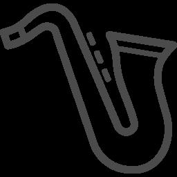サックスのアイコン2 アイコン素材ダウンロードサイト Icooon Mono 商用利用可能なアイコン素材が無料 フリー ダウンロードできるサイト
