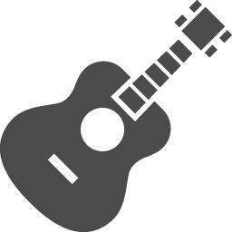 アコースティックギターの無料イラスト2 アイコン素材ダウンロードサイト Icooon Mono 商用利用可能なアイコン素材が無料 フリー ダウンロードできるサイト