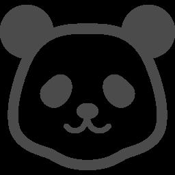 パンダの顔アイコン3 アイコン素材ダウンロードサイト Icooon Mono 商用利用可能なアイコン素材が無料 フリー ダウンロードできるサイト