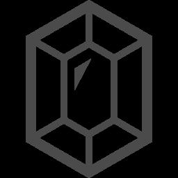 宝石のアイコン2 アイコン素材ダウンロードサイト Icooon Mono 商用利用可能なアイコン素材が無料 フリー ダウンロードできるサイト