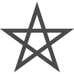 五芒星のイラスト2 アイコン素材ダウンロードサイト Icooon Mono 商用利用可能なアイコン素材が無料 フリー ダウンロードできるサイト