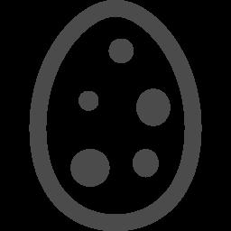 うずらの卵のアイコン アイコン素材ダウンロードサイト Icooon Mono 商用利用可能なアイコン素材が無料 フリー ダウンロードできるサイト