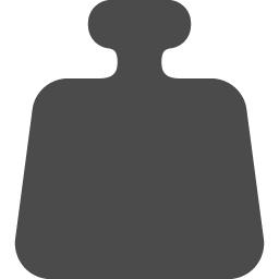 分銅のアイコン アイコン素材ダウンロードサイト Icooon Mono 商用利用可能なアイコン素材が無料 フリー ダウンロードできるサイト