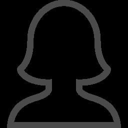 女性の輪郭イラスト アイコン素材ダウンロードサイト Icooon Mono 商用利用可能なアイコン素材が無料 フリー ダウンロードできるサイト
