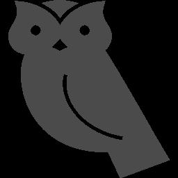 フクロウの無料イラスト2 アイコン素材ダウンロードサイト Icooon Mono 商用利用可能なアイコン素材が無料 フリー ダウンロードできるサイト