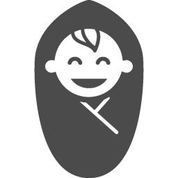 赤ちゃんのフリーアイコン17 アイコン素材ダウンロードサイト Icooon Mono 商用利用可能なアイコン素材が無料 フリー ダウンロードできるサイト