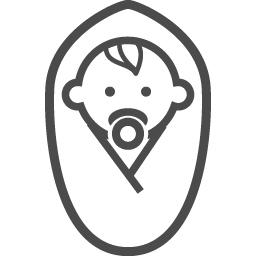 赤ちゃんのフリーアイコン22 アイコン素材ダウンロードサイト Icooon Mono 商用利用可能なアイコン素材が無料 フリー ダウンロードできるサイト
