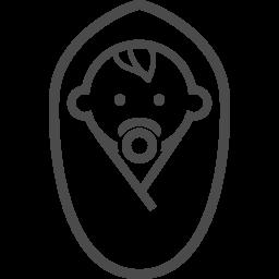 赤ちゃんのフリーアイコン25 アイコン素材ダウンロードサイト Icooon Mono 商用利用可能なアイコン素材が無料 フリー ダウンロードできるサイト
